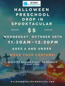 Halloween Preschool Drop In 2019