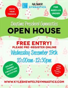 Open House - December 19 2018