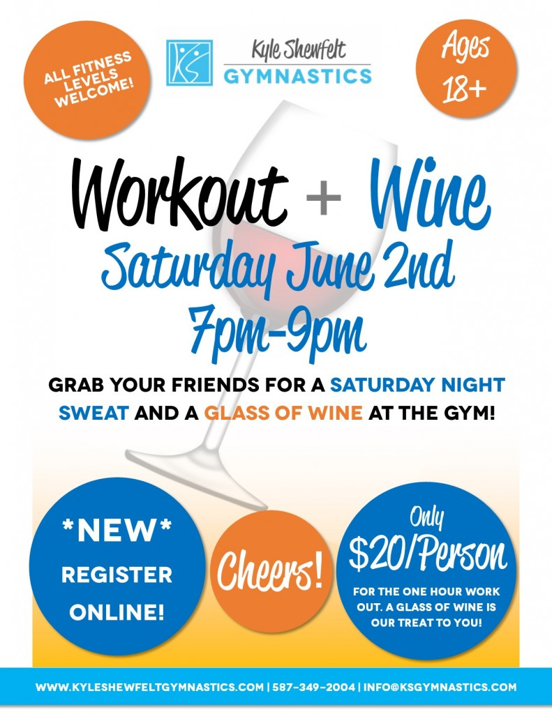 June 2 2018 Workout and Wine