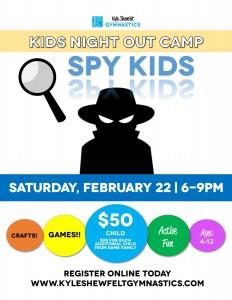 Kids Night Out- Spy 2020