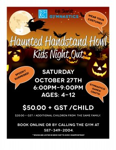 Oct 2018 Kids Night Flyer